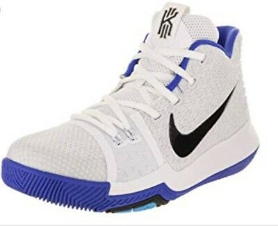 0ad38dfd3 NIKE KYRIE 3 (TD) White Black Cobalt Toddler Boy s Shoes-Size 6 7 8 ...