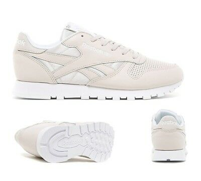 13d4d38b2ba Womens Reebok Classic Leather Perforated Lilac Trainers (SF32) RRP £69.99