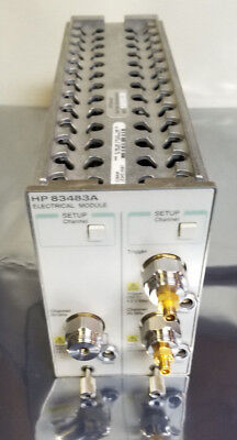 HP Agilent 83483A Dual Electrical Channel Module 12.4/20GHz Bandwidth