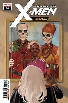 X-Men Gold #34 Marvel Legacy - 1St Print -  Bagged And Boarded. Free Uk P+P!