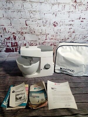Vintage Retro Kenwood Chef Major  Mixer Bowl Case 1960's K Beater Cooking