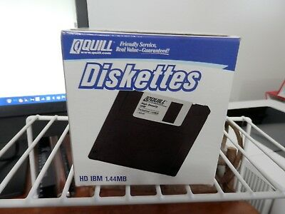 """~L@@K~NEW Unopened Box of HD IBM 1.44MB Diskettes~3.5"""""""