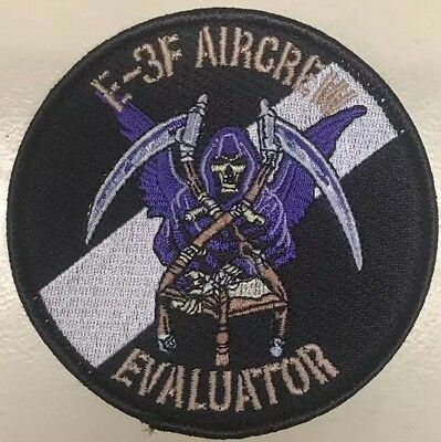 French AWACS Patch of The Evaluator Branch - Velcro Backside - Embroided