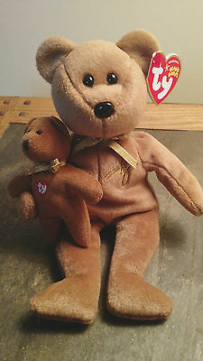 2004 Ty Signature bear beanie baby New with tags