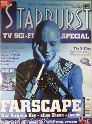 Starburst #43 Xena + Virgina Hey Farscape + 23 Photos + Promo Card