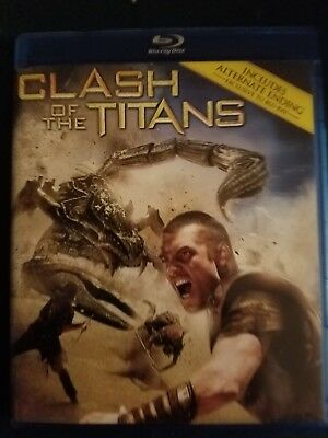Clash of the Titans/Wrath of the Titans (Blu-ray Disc, 2014)