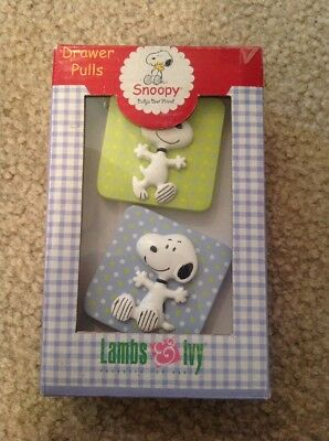 Snoopy Drawer Pulls Lambs & Ivy Baby Child