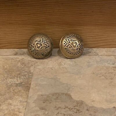 brass vintage antique brass door knobs