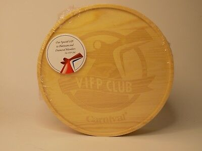 CARNIVAL CRUISE LINE Platinum / Diamond VIFP Wooden Gift Box