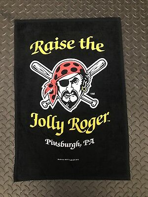 Pittsburgh Pirates Raise The Jolly Roger Rally Towel Rare! New Buccos 412 8276d293d