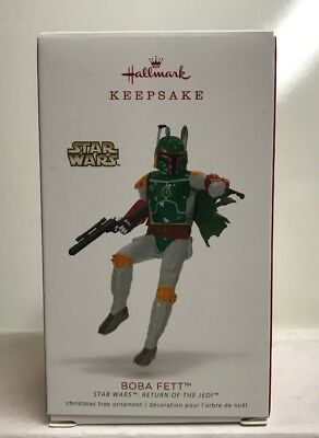 2018 Hallmark Keepsake Star Wars Return Of The Jedi Boba Fett Ornament