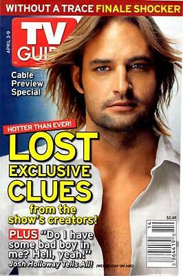 Tv Guide - Lost - Josh Holloway ( Colony) - Wthout A Trace Shocker