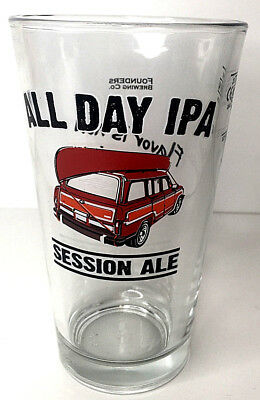 All Day Ipa Session Ale Beer Glass 2/3Pint Founders Brewing Co.