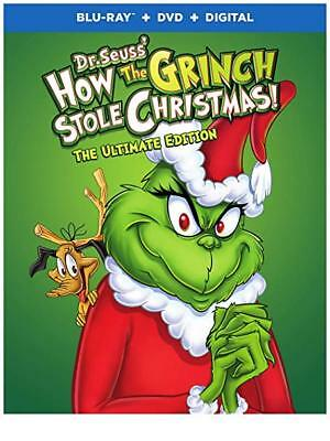 Dr. Seuss' How The Grinch Stole Christmas Ultimate Edition Blu-Ray Dvd Digital