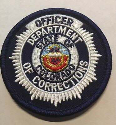 """Colorado Department Of Corrections 3"""" Patch Unused"""