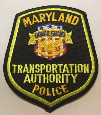 Maryland Transportation Authority Police Patch Unused