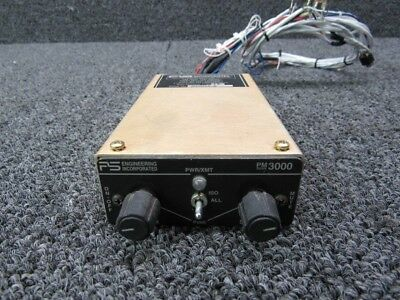 1193-1A (M/N: PM3000) Cessna PS Engineering Panel Mounted Intercom (V: 14-28)