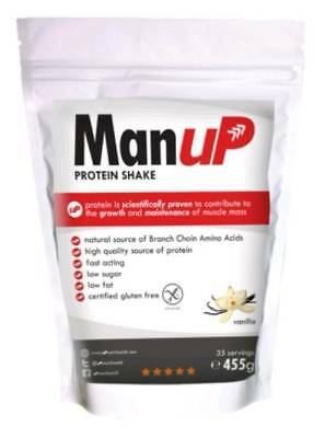 Man uP Protein Shake Strawberry 36 Servings