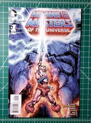 He-Man and the Masters of the Universe #1 Cover A (2012, DC Comics) VF/NM