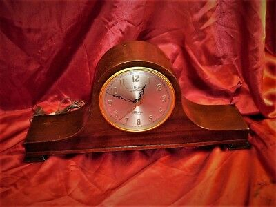 ANTIQUE ART DECO GE Telechron Revere Westminster Chime Clock EVERYTHING WORKS!!!