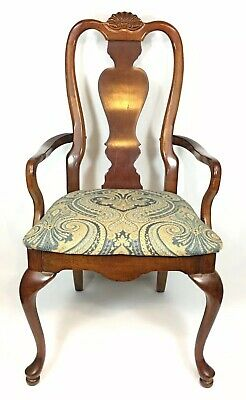 AMERICAN DREW Cherry Grove Queen Anne Style Dining Captain's Chair WOODEN USA