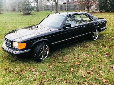 1988 Mercedes-Benz 500-Series  mercedes benz 560 sec