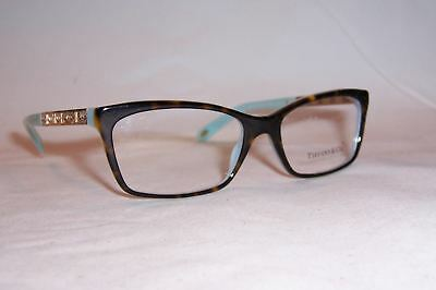 1c4867af50b0a New Tiffany   Co Eyeglass Tf 2103B 8134 53Mm Havana Blue Rx Authentic 2103