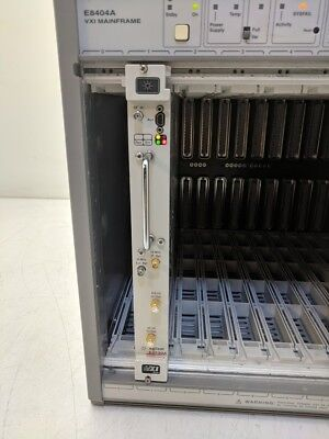 Agilent HP VXI E2730A 75000 Series C VXI 20-2700 MHz RF Tuner Power On Tested A