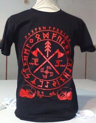 Men's Asgard Warrior, Viking Norse t-shirt (S-XL) Amon Amarth, Asatru,Ensiferum