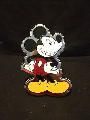 """Mickey Mouse Sliver Colorful Trailer Aluminum Hitch Cover 2"""" Insert Receiver"""