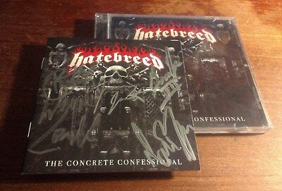 Hatebreed-The Concrete Confessional signed/autographed CD
