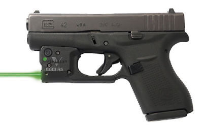 *New Viridian Reactor 5 laser sight for Glock 43 featuring ECR  R5-G43 Green
