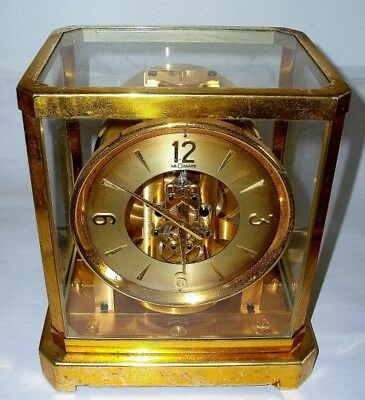 LeCoultre Atmos Clock Mod. 519 Serial #56797 Not Working.