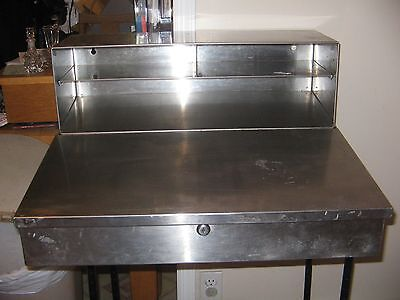 Stainless Steel Wall Mount Desk for Commercial Kitchen