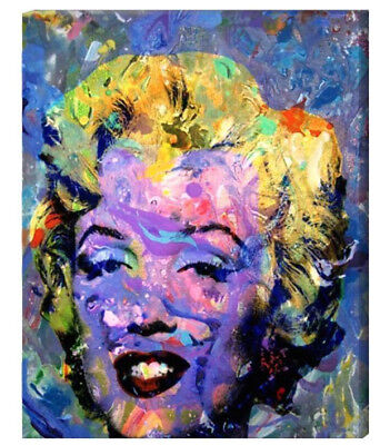 ce47c29594a6 Marilyn Monroe Art Canvas Painting or Photo Print Abstract Andy Warhol  Artwork