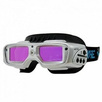 Servore Automatic Dimming Welding Goggles ARC-513 Silver Face Shield_EC