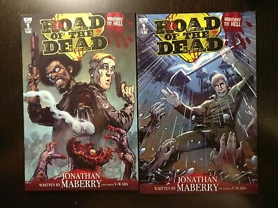 Road of the Dead Highway to Hell #1 Covers A + B NM IDW