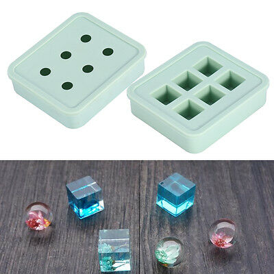 2 Forms Silicone Pendant Mold Making Jewelry For Resin Necklace Craft Mould Set