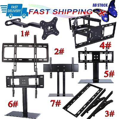 Universal TV Wall Mount Bracket LED LCD Tilt Swivel Stand Support Holder Rack AU