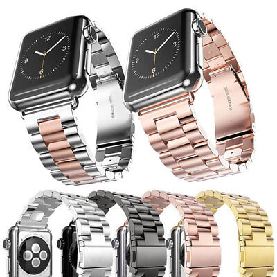 Acciaio Inossidabile Band Strap Cinturino Per Apple Watch 38 40 42 44mm Series 4