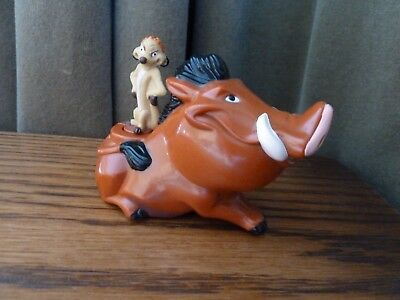 McDonalds Rare Collectible Toy 1994  Disneys LION KING Toy PUMBA & TIMON