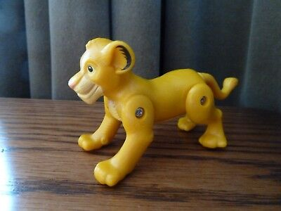 McDonalds Rare Collectible Toy 1994  Disneys LION KING Toy SIMBA