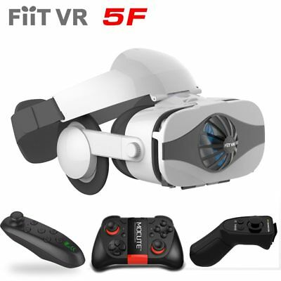 Fiit VR 5F headset version Fan cooling virtual reality glasses 3D glasses