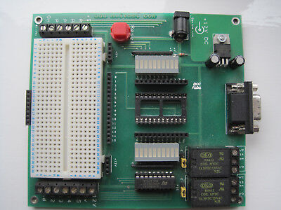 Parallax BS2 Development Board and 2 BS2 Controllers