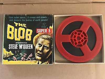 "Vintage ""the Blob"" Super 8Mm Film / Steve Mcqueen / Nice Box........"