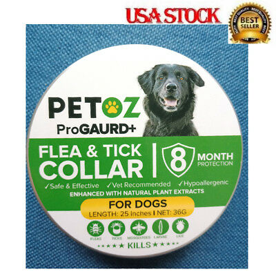 63cm Seresto Dewel Flea and Tick Collar for Large/Small Dogs 8 Month Protection
