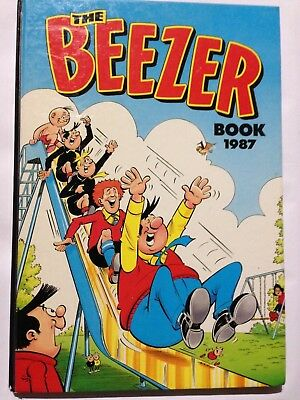 THE BEEZER BOOK 1987. Good Condition **Free UK Postage**