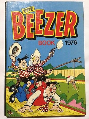 THE BEEZER BOOK 1976. Good Condition **Free UK Postage**
