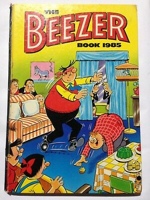 THE BEEZER BOOK 1985. Good Condition **Free UK Postage**