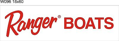 W096 Ranger Boats banner garage decor Nautical fishing signs